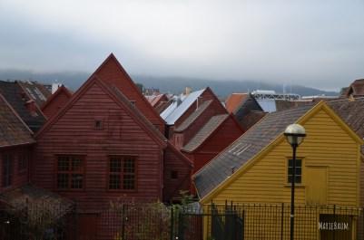L'envers des quais de Bryggen