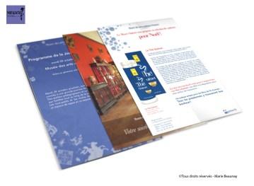 Réalisation de documents pour le musée des Arts Asiatiques Guimet - Mise en page et illustrations