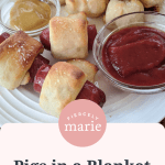 Easy Appetizers Pigs In A Blanket With 2 Ingredient Dough