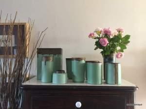 les vases vert antique