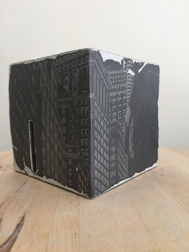 New-York, noir, vue 2
