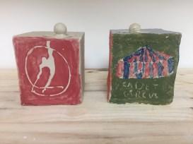 tirelires2. stage de poterie enfants, mariecarolinelemansceramique