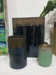vase rectangle, pot et gourdes, mariecarolinelemansceramique