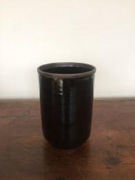 vase pot haute, noir, mclceramique