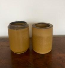 paire de vases lanterne positif-négatif