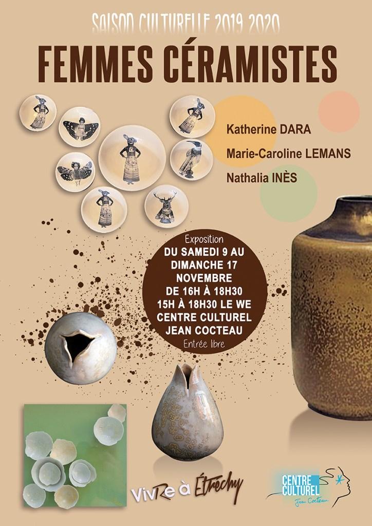 Femmes céramistes. La céramique mise à l'honneur.