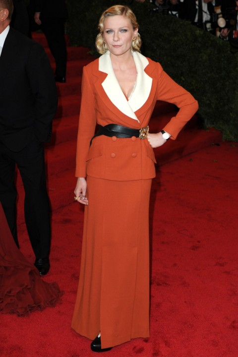Kirsten Dunst at the Met Ball 2012 - Costume Institute Gala - Marie Claire