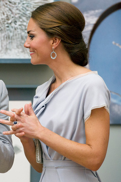 Kate Middleton wears Roksanda Ilincic at Creative Industries reception