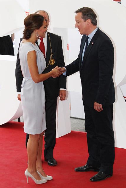 Kate Middleton wears Roksanda Ilincic at Creative Industries reception