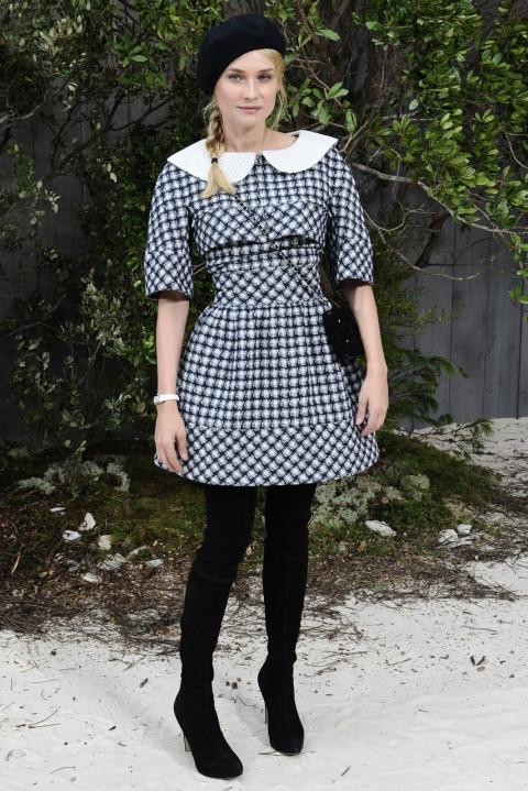 Diane Kruger at the Chanel spring/summer 2013 couture show