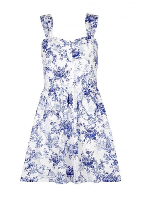 alt=<Blue-White-China-Print-Dress>