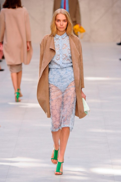 Burberry SS14 at London Fashion Week