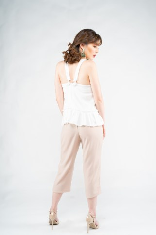 Trousers in Nude
