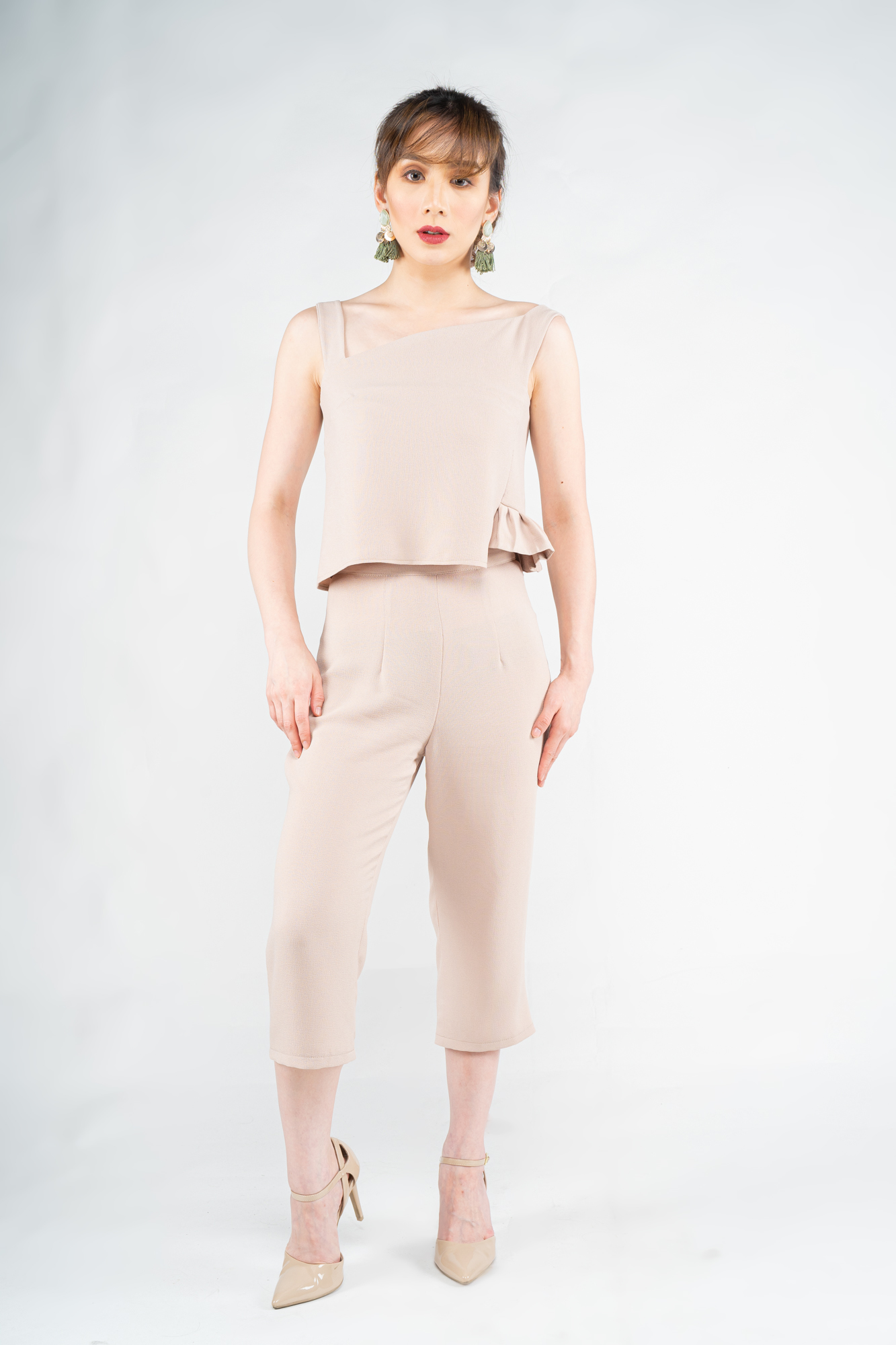 Paired with Celina Trousers in Nude