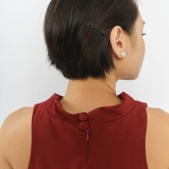 covered neck buttons
