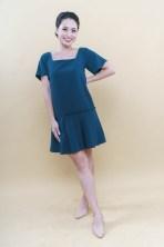 drop waist shift dress