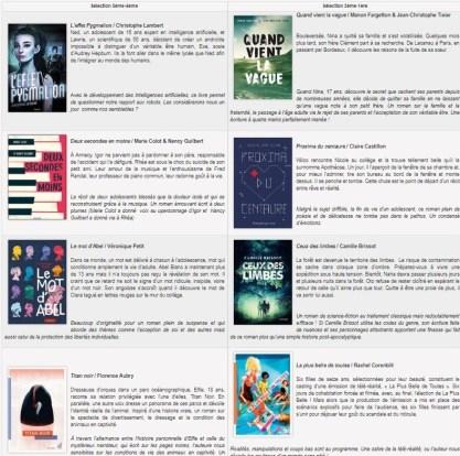 livres sur Seine_sélection