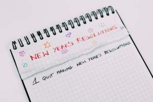 New Year's Resolution to stop making resolutions on marie deveaux coaching site in article about setting intentions for the new year