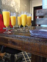 OJ at Femme Totale Vision Baord Brunch hosted by Marie Deveaux career coach at High Tides Consulting