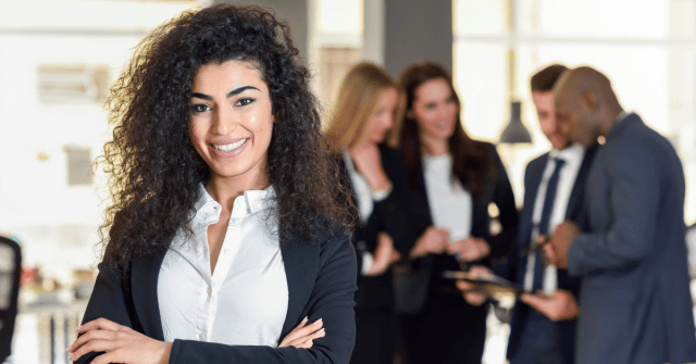 I got my Masters in management, managed teams, and did extensive research about leadership. And came up with 4 hallmarks of a great entrepreneurial leader, by Marie Deveaux, Finance Coach