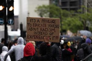 The Reckoning - A Year of Racial Awareness in America - what have we accomplished in this one year since George Floyd's murder? by Marie Deveaux, Leadership Coach
