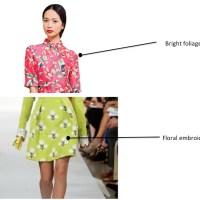 Floral Print Trends Spring 2014