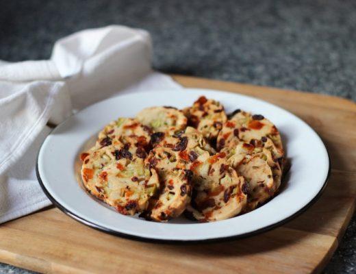 cuisine-recette-food-anti-gaspillage-gaspi-zéro-déchet-sablé-salé-brocoli-comté-fromage-cranberries-abricots