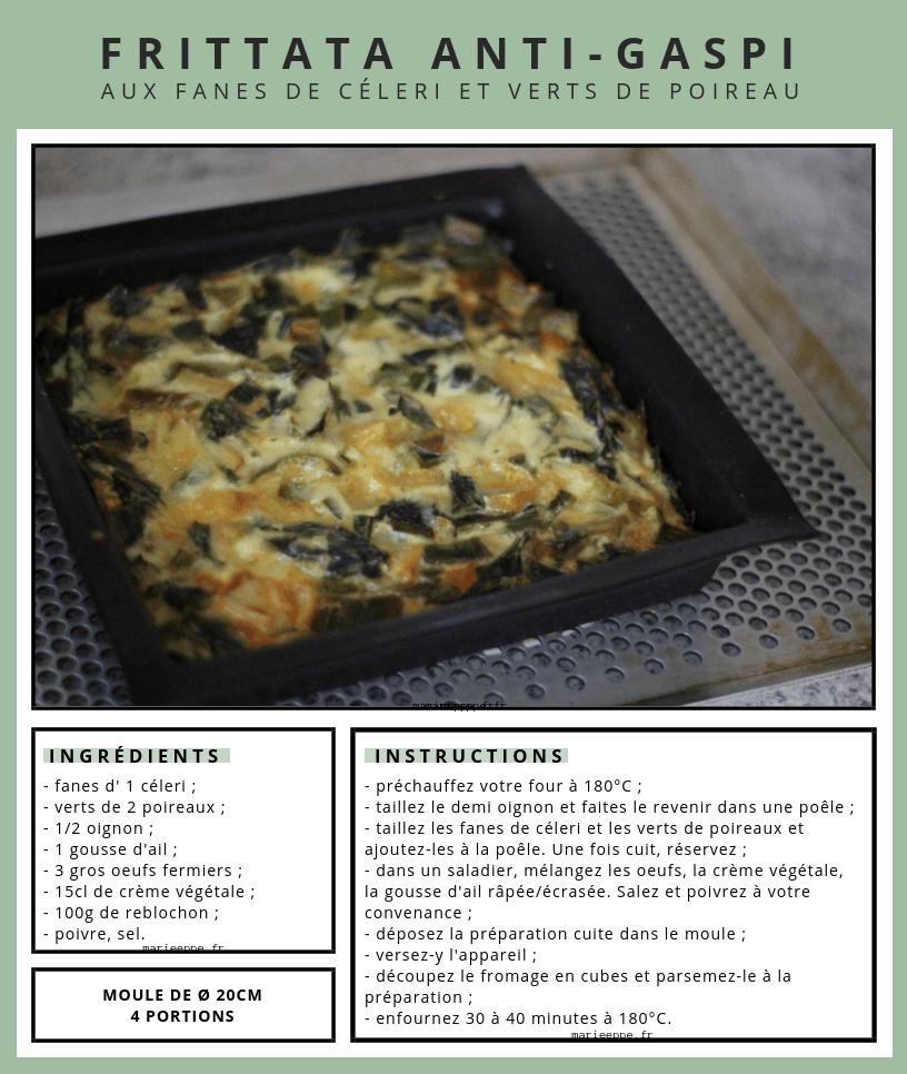 Frittata-recette-anti-gaspi-fanes-céleri-poireaux