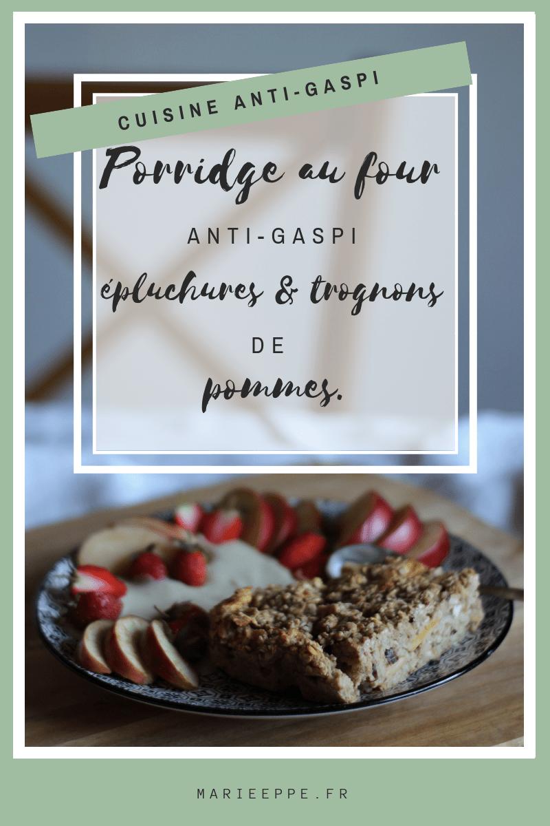 porridge-four-recette-anti-gaspi-epluchures-trognons-pommes