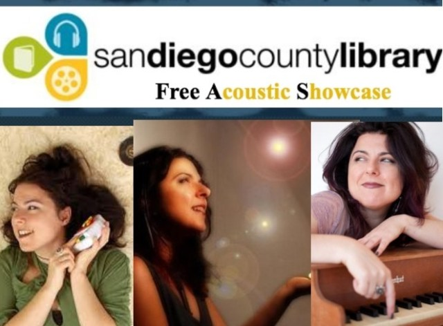 san diego acoustic library show