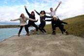 Roadtrip friends, Iceland