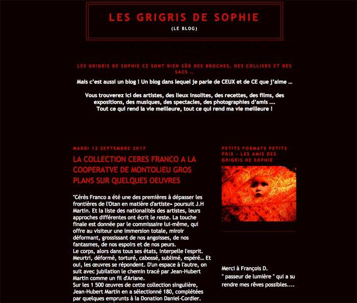 drisgris de Sophie