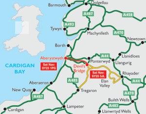 map-aberystwyth