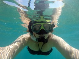 88. Snorkelen in de zee