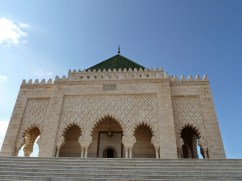 Mohammed V mausoleum - Rabat