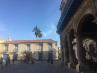 Arcade in Plaza de la Catedral