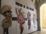 Rincón de los cretinos, Museo de la Revolución