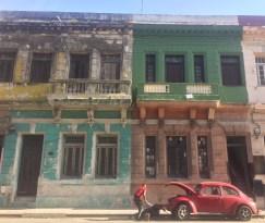 Deteriorated building in Havana