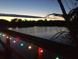Sunset at the Kingman Island Bluegrass and Folk Festival