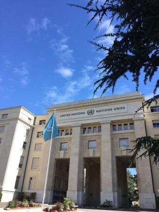 Geneva - UN headquarters at Palais des Nations