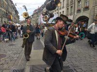 A street show