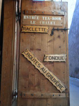 Details at Le Chalet