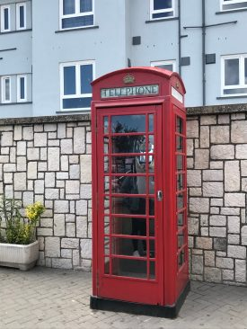 The traditional British phone booth