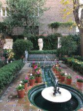One of Sorolla's beautiful Andalusian patios