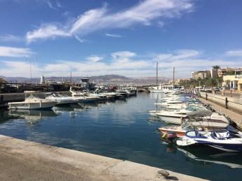 Boats in Aqaba's Marina