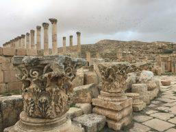 Imposing ruins
