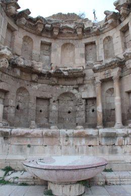 The Nymphaeum on the Cardo Maximum