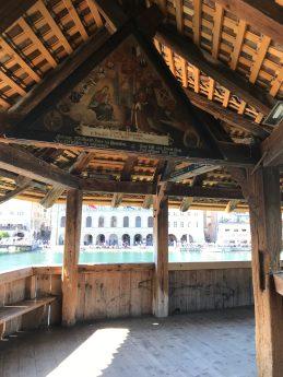 Inside Kapellbrücke - Lucerne