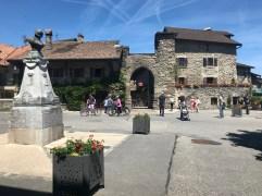 Yvoire - main square