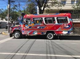 Colorful trufi bus